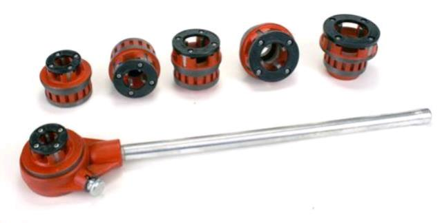 Where to find Pipe Threading Die Kit, 1 2 - 2 in Allentown