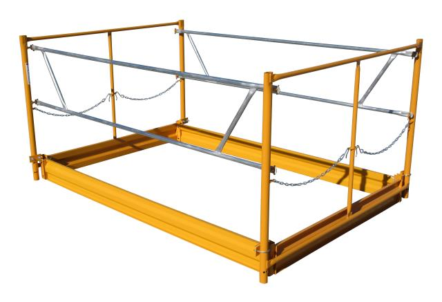 Where to rent Scaffold Guard Rail Kit in Philadelphia, Allentown PA, Bethlehem PA, and Lehigh Valley PA