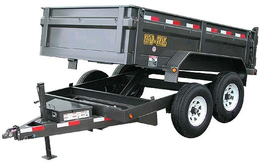 Where to rent Dump Trailer, Tandem Axle 10,000lb GVW in Philadelphia, Allentown PA, Bethlehem PA, and Lehigh Valley PA
