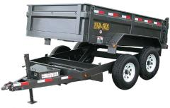 Rental store for Dump Trailer, Tandem Axle 10,000lb GVW in Allentown PA
