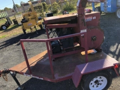Used Equipment Sales Bale Chopper w  Trailer in Allentown PA