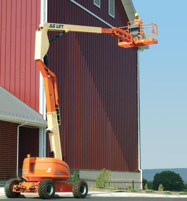 Where to rent Lift, 60  4wd Articulated Boom w  Jib in Philadelphia, Allentown PA, Bethlehem PA, and Lehigh Valley PA