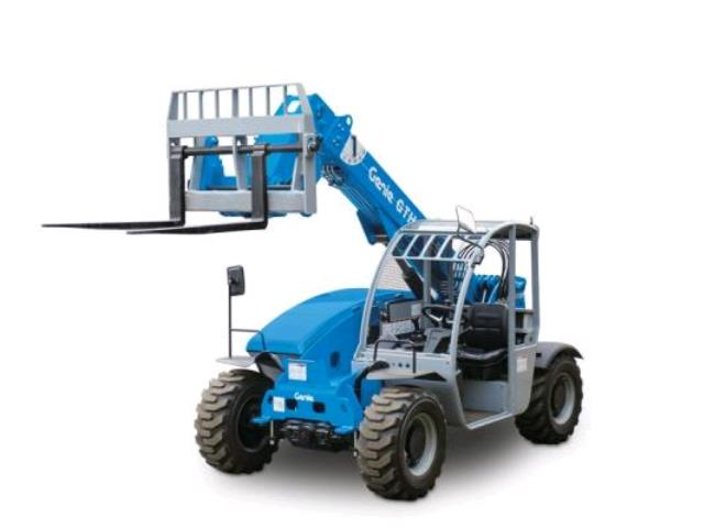 Where to rent Forklift, 5,500lb 19  Shooting Boom 4wd in Philadelphia, Allentown PA, Bethlehem PA, and Lehigh Valley PA