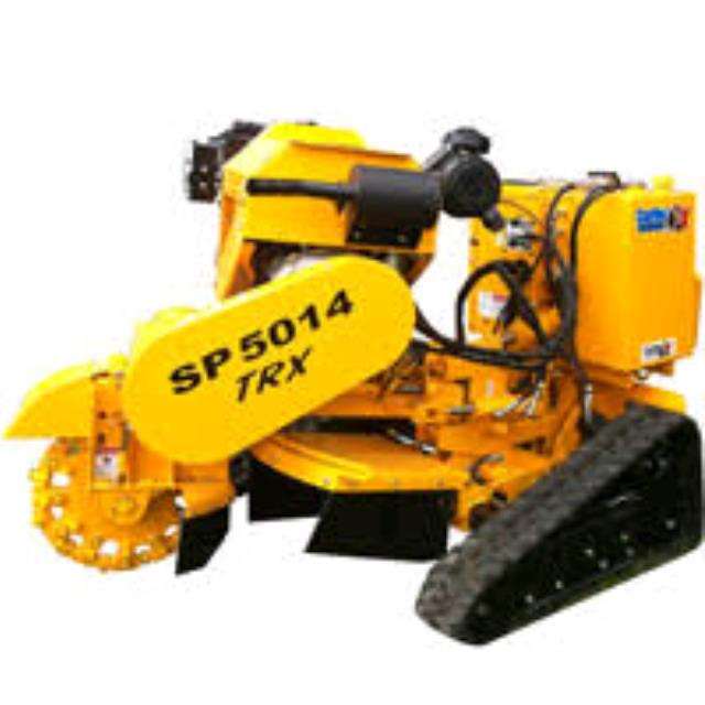 Where to rent Stump Grinder, 35hp hydraulic controls in Philadelphia, Allentown PA, Bethlehem PA, and Lehigh Valley PA