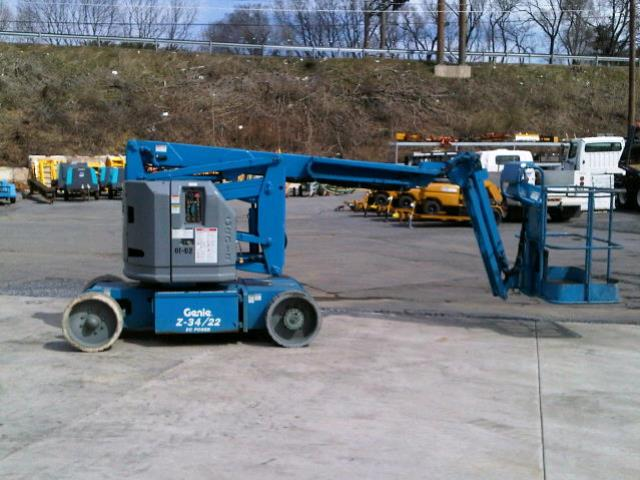 Where to find Lift, 34  Electric Boom in Allentown and Bethlehem Pa
