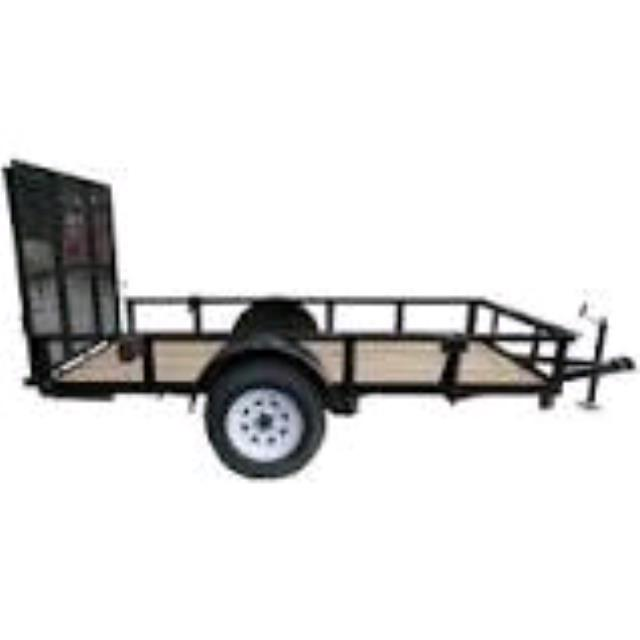 Where to find Trailer, Utility 5.5  x 10  1 Ton in Allentown