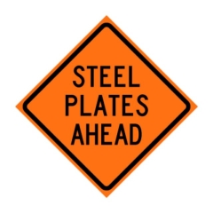 Rental store for Sign, Steel Plate Ahead in Allentown PA