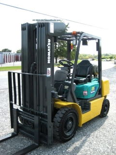 Rental store for Forklift, 5,000lb Quad mast Propane in Allentown PA