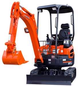 Where to find Excavator, 2 ton 7 in Allentown