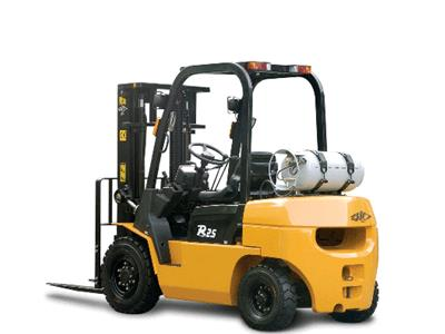 Where to rent Forklift, 5,000lb Straight mast Propane in Philadelphia, Allentown PA, Bethlehem PA, and Lehigh Valley PA