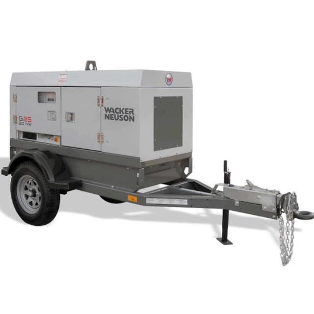 Where to rent Generator, 20KW 3 phase towable in Philadelphia, Allentown PA, Bethlehem PA, and Lehigh Valley PA