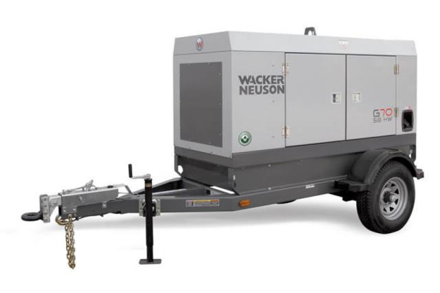 Where to rent Generator, 65KW 3 phase towable in Philadelphia, Allentown PA, Bethlehem PA, and Lehigh Valley PA